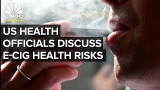Top US Health Officials Hold News Conference on E-Cigarettes - Dec. 18, 2018