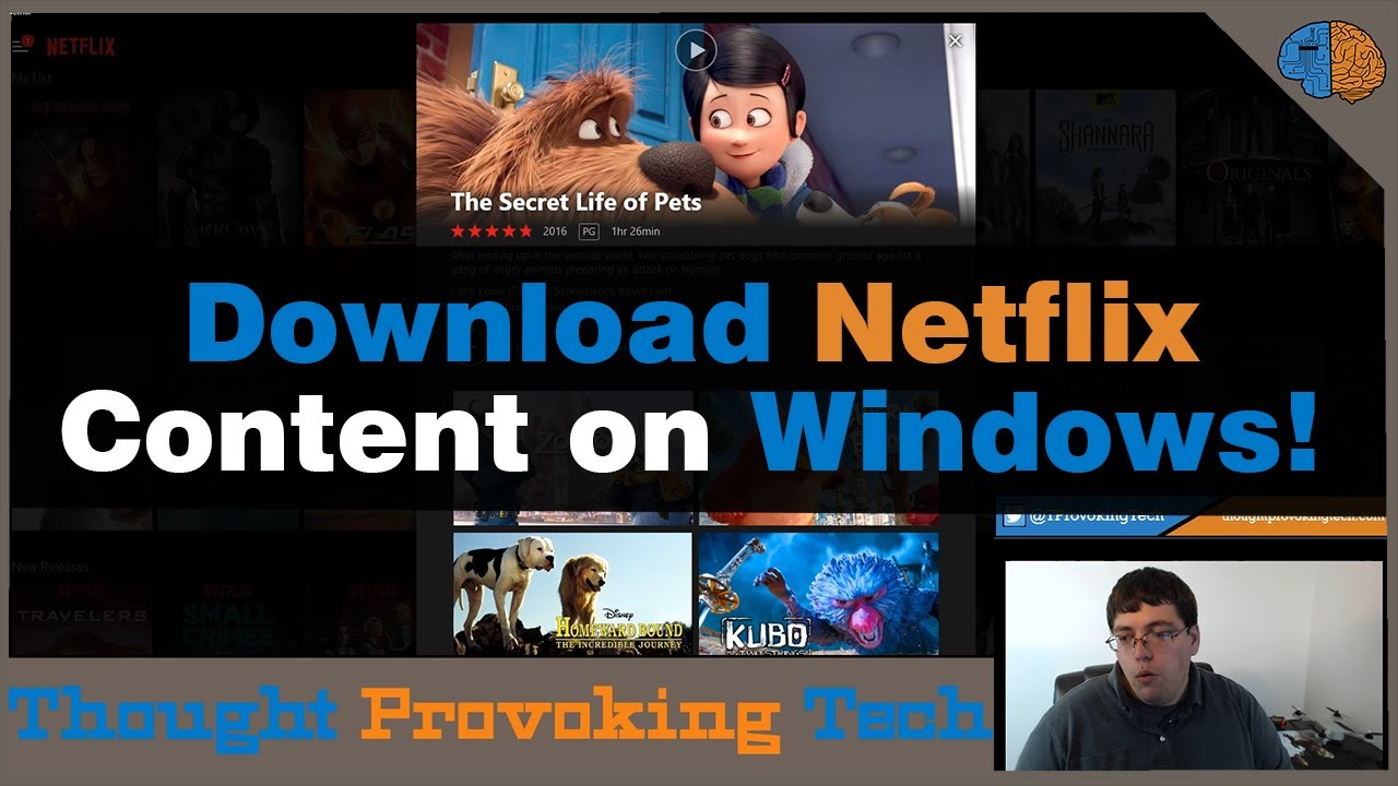 how to download netflix movies on pc windows 8.1
