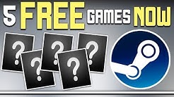 GET FIVE FREE GAMES ON STEAM RIGHT NOW - Tomb Raider + More Free!