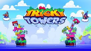 HARDEST GAME IN THE WORLD! WITH FRIENDS!! | Tricky Towers w/JeromeASF