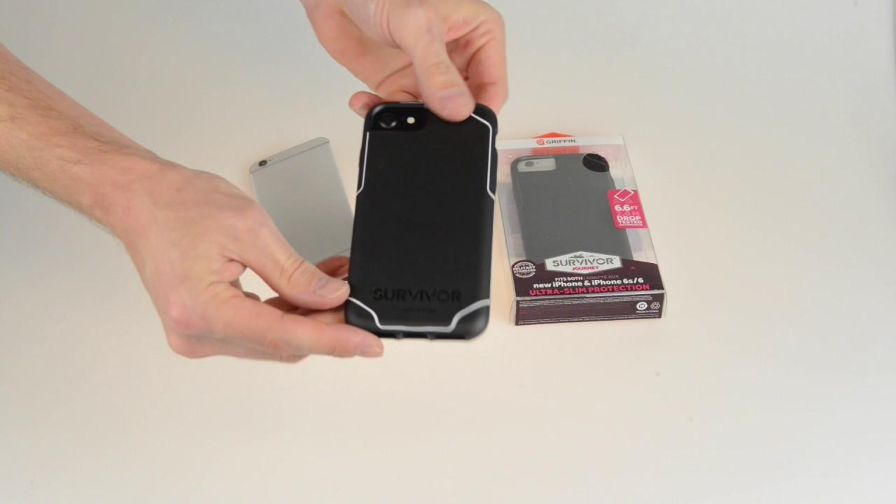 new concept 5f675 39871 UNBOXING REVIEW Griffin Survivor Journey iPhone 7 Case