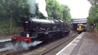 5029 Nunney Castle LE at Hall Green 19th June 2013