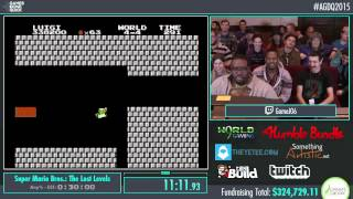 Awesome Games Done Quick 2015 - Part 72 - Super Mario Bros.: The Lost Levels by GameJ06