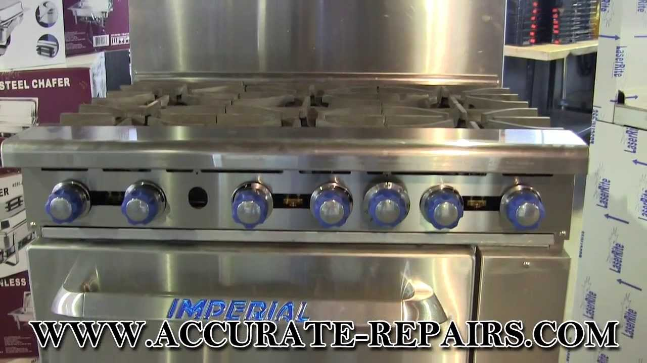 Imperial Ir6 Gas Commercial Range