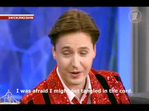 """VITAS_The First TV Interview_English Subtitles by VE_""""Let Them Talk""""_1TVRussia_January 10_2012"""