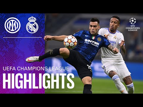 Inter Real Madrid Goals And Highlights