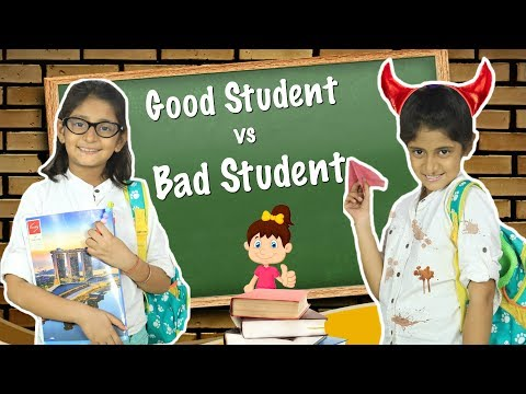 Good Student Vs Bad Student - School Routine | #Sketch #Roleplay #MyMissAnand