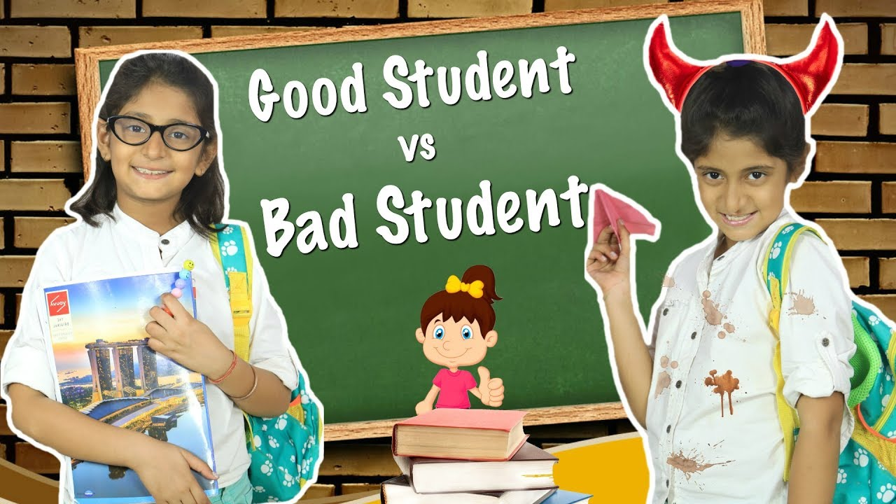 [VIDEO] - Good Student vs Bad Student - School Routine | #Sketch #Roleplay #MyMissAnand 2