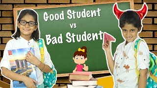 Good vs Bad Student - School Routine | #Sketch #Roleplay #MyMissAnand