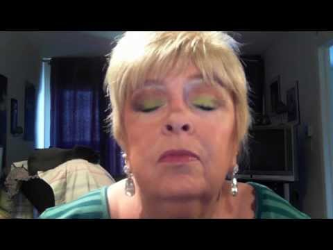 Kat Von D + Choc Bar Eye Tutorial - 67 yr.old :O)