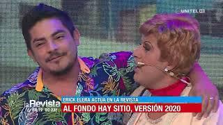 Humor: Erick Elera interpretó la versión 2020 de 'Al Fondo hay Sitio' en La Revista