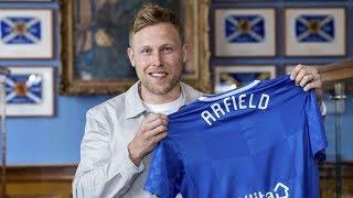 Scott Arfield • Welcome to Glasgow Rangers • Skills & Goals •