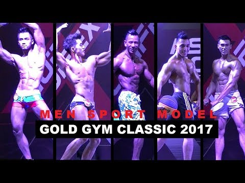 Gold Gym Classic 2017 Jcc Jakarta - Men Sport Model