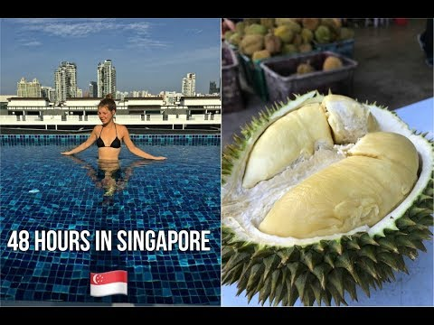 Eating DURIAN In Singapore 🇸🇬 | City Vlog