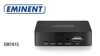Eminent EM7415 WiFi Music Streamer EN