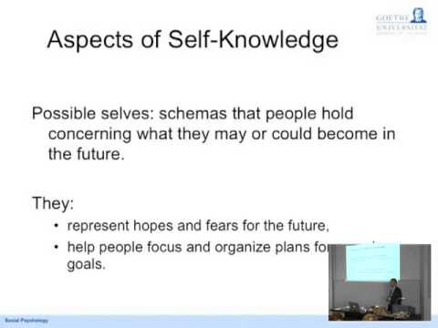 MOOC Social Psychology Lecture 3 Self & Identity