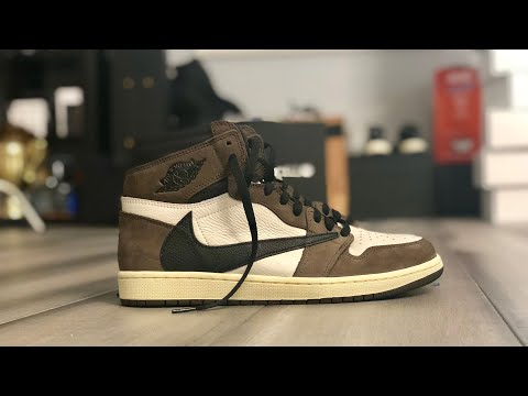 "UNBOXING: AIR JORDAN 1 ""Travis Scott"" SNEAKER Review"