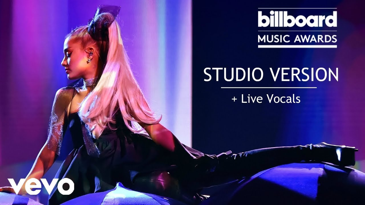 Ariana Grande No Tears Left To Cry Billboard Music Awards Studio Version With Live Vocals