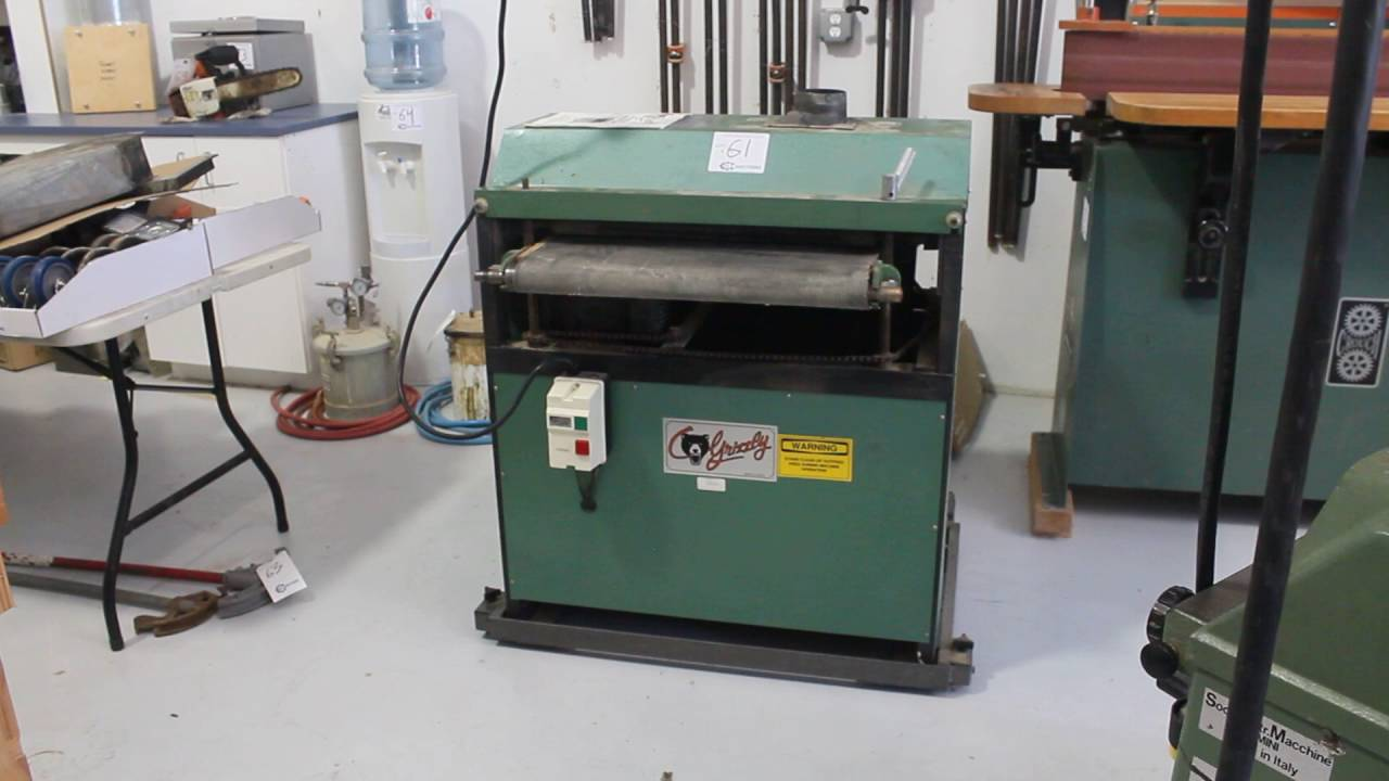 Grizzly Sanding Machines