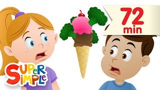 do you like broccoli ice cream more   nursery rhymes   super simple songs