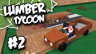 Lumber Tycoon 2 #2 - PICK UP TRUCK (Roblox Lumber Tycoon)