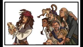Jack Sparrow - SkyMarshall Arts (lyrics)