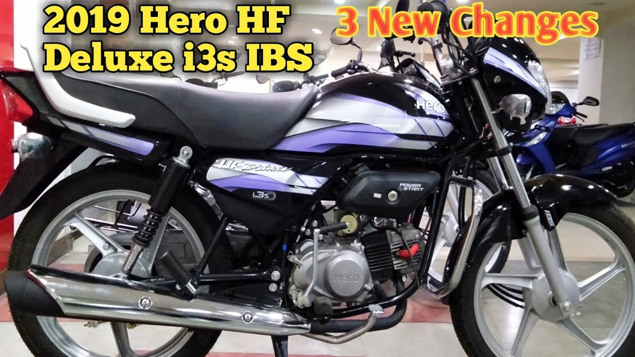 2019 Hero Hf Deluxe I3s Ibs 3 New Changes Most Detailed Review Price Mileage In Hindi Youtube