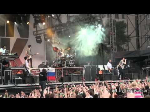 Linkin Park Live at Tuborg Greenfest in St  Petersburg, Russia 2009 07 26 HD720p