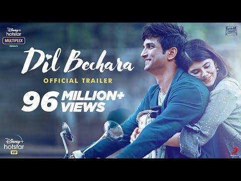 Dil Bechara Trailer - Sushant Singh Rajput, Sanjana Sanghi | Hotstar
