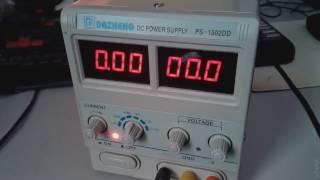 Ta'mirlash DAZHENG PS-1502DD (Laboratoriya elektr ta'minoti) zeros guvohligi Haqida