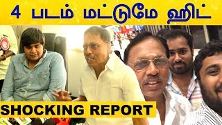 Only Four Movies Gave Smash Hit In 2019 – Shocking Report Of Theatre Owners! | Tamil cinema