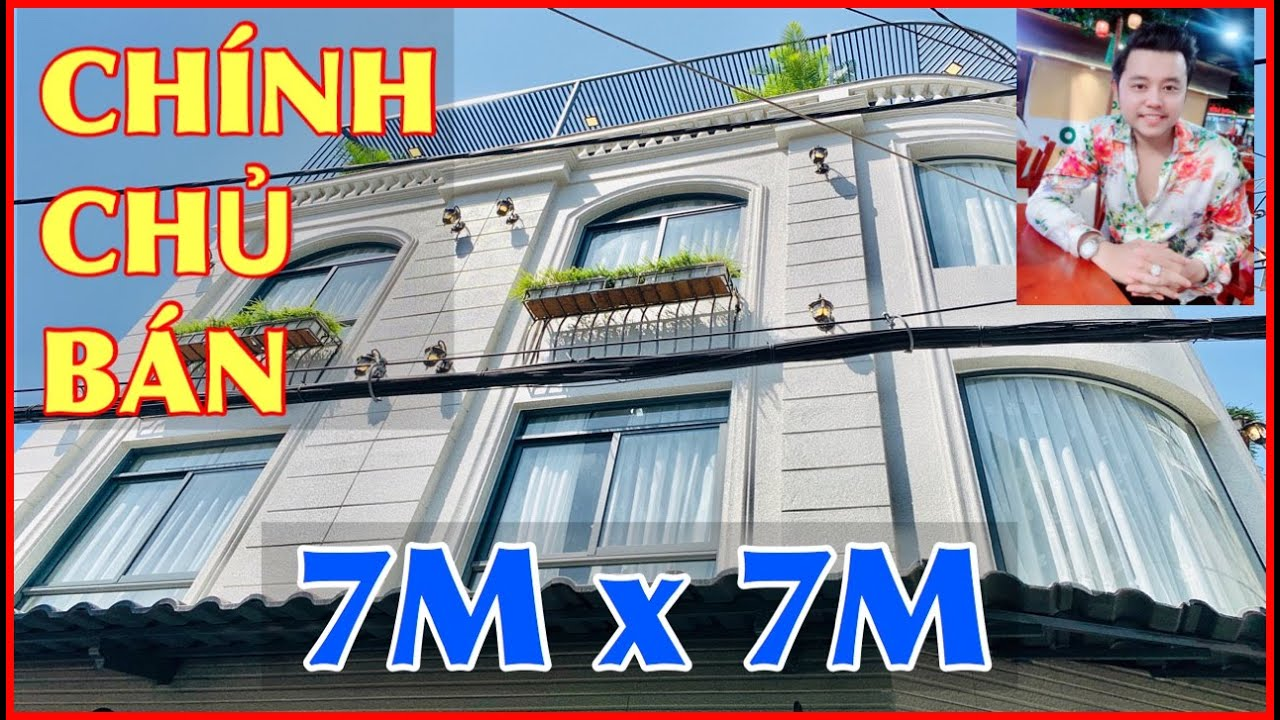 Bán Nhà Gò Vấp #239. 7m x 7m  Cặp Villa Thống Nhất 4 Lầu – Gây Cơn Sốt Cộng Động Mạng.