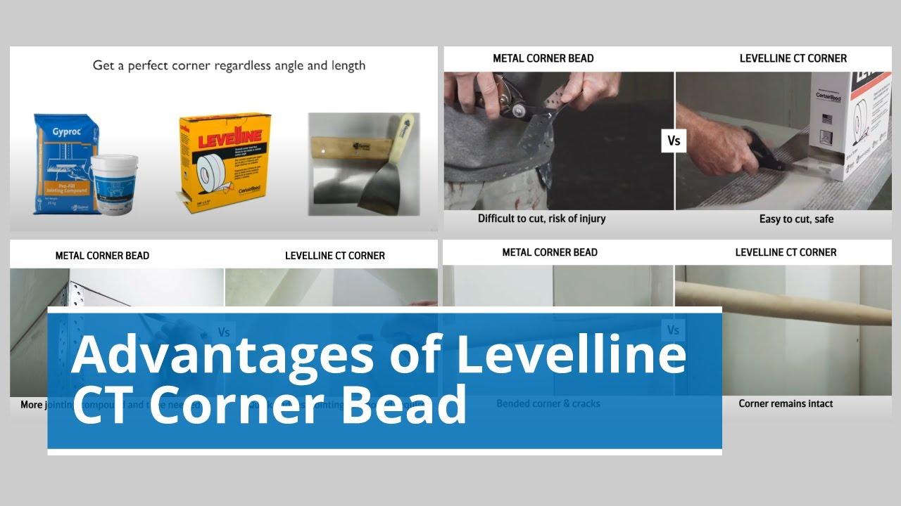 Gyproc Levelline CT Corner Bead