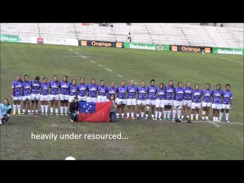 Samoa Women's Rugby Team - Your team!