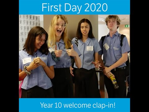 QACI Clap In First Day Year 10 2020