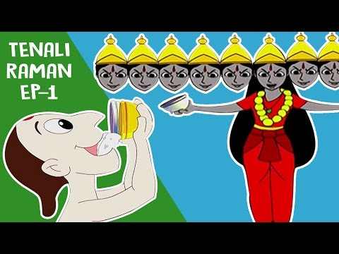 Tenali Raman Cartoon In Hindi | Short Stories For Kids | Tenali Raman Cartoon Stories [1] In HD