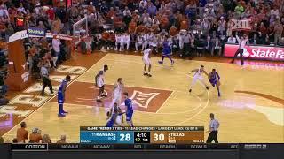 Kansas at Texas Men's Basketball Highlights
