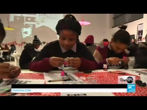 THE 51 PERCENT- young African women helping to build a satellite