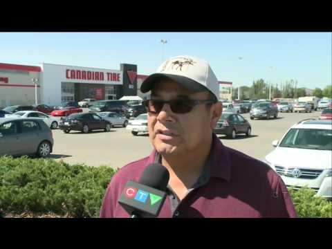 Regina man livestreams incident in Canadian Tire