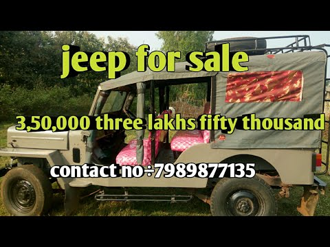 Mahindra Commander Jeep For Sale 3 Lakhs Rupees Contact÷7989877135 Direct Owner
