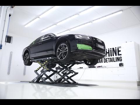 High End Car Detailing Audi S8 Supreme Detail with Modesta BC-04 Coating