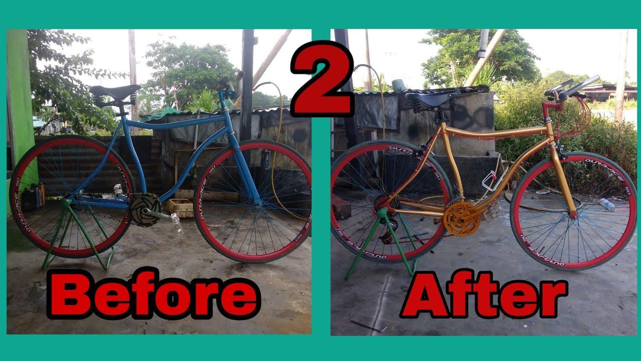 Upgrade Fixie Jadi Sepeda Balap Part 2 Youtube