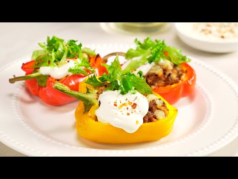 Фаршированный Перец за 30 минут! Итальянский рецепт от Всегда Вкусно!
