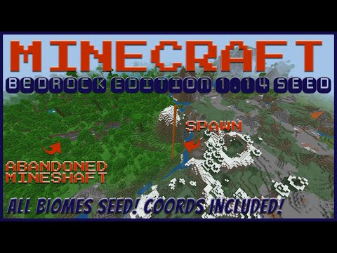Minecraft Bedrock 1 14 3 Jungle Seed All Biomes Apr 2020 Seed Saturday Youtube