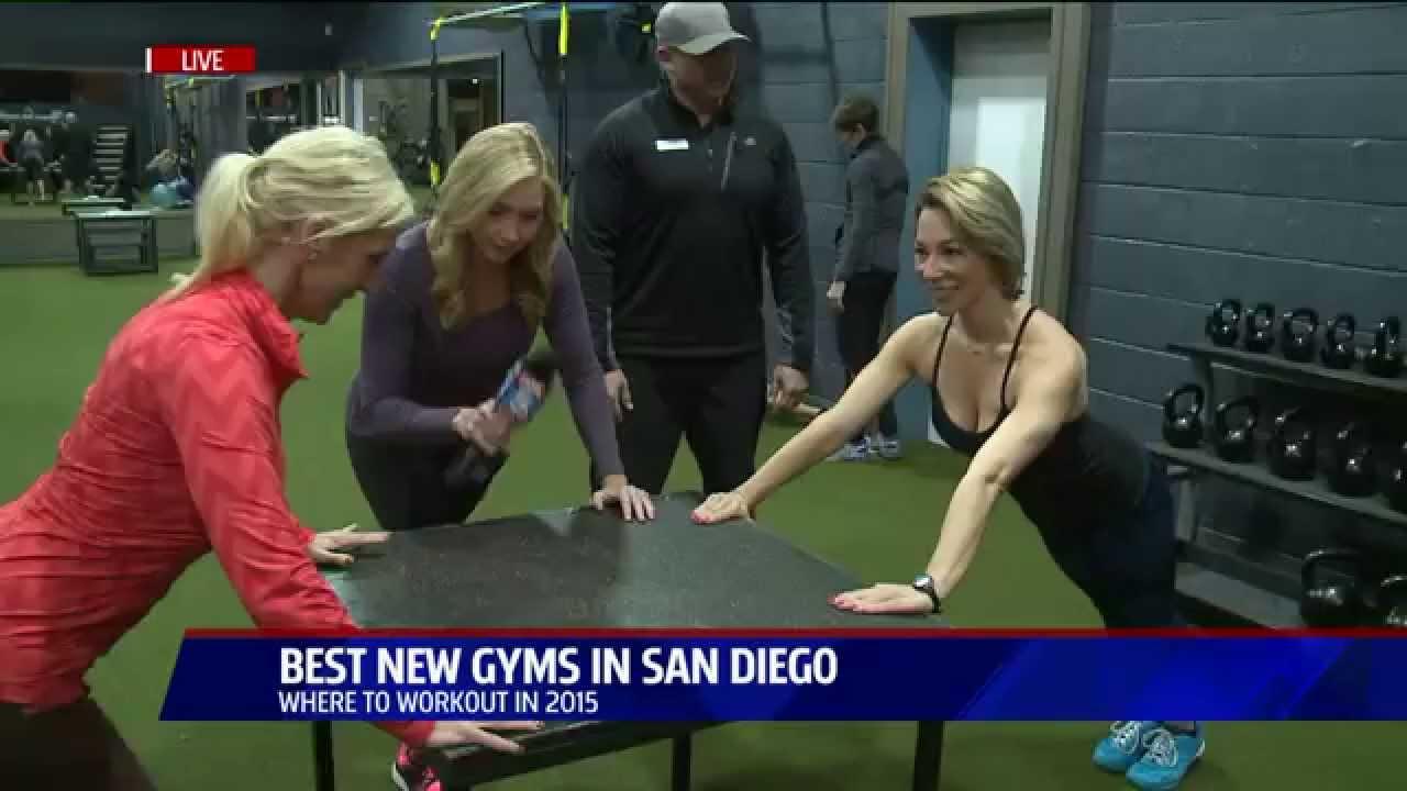 Gym Workout Warm Up Fit Athletic Club Solana Beach Fox 5 San Go You