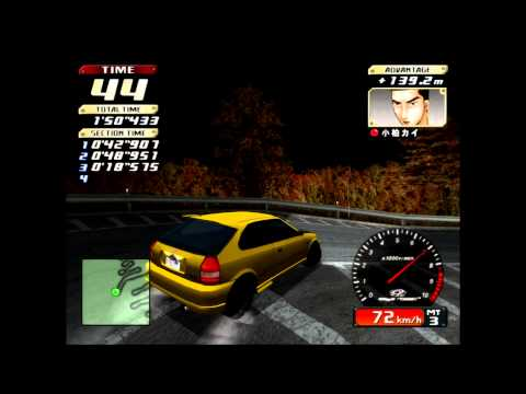 PCSX2[Download] - Initial-D Special Stage [60FPS - Full speed]