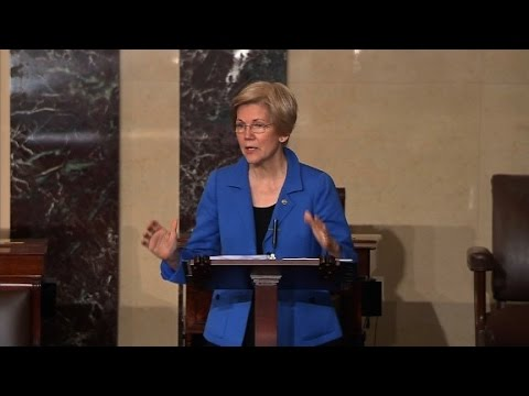 Warren Cut Off During Sessions Debate