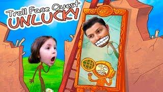 Челлендж КТО НЕУДАЧНИК TROLLFACE QUEST смешная видео игра кто кого перетроллит KIDS CHILDREN