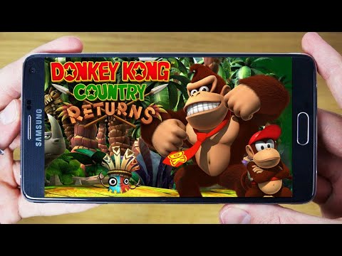 DONKEY KONG COUNTRY RETURNS PARA ANDROID+GAMEPLAY | M4VN TUTORIAIS