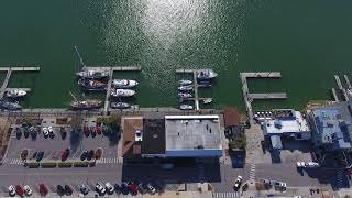 Commercial Real Estate Aerial Drone Video Shoot : Beaufort, NC